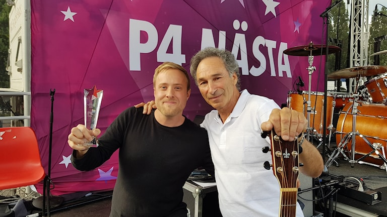 Mattias Cronert vann P4 Nästa Västmanland