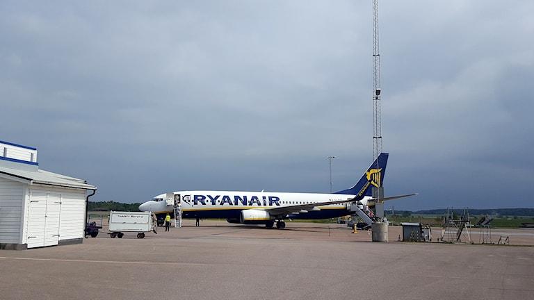Ryanair, Västerås flygplats, flyglan