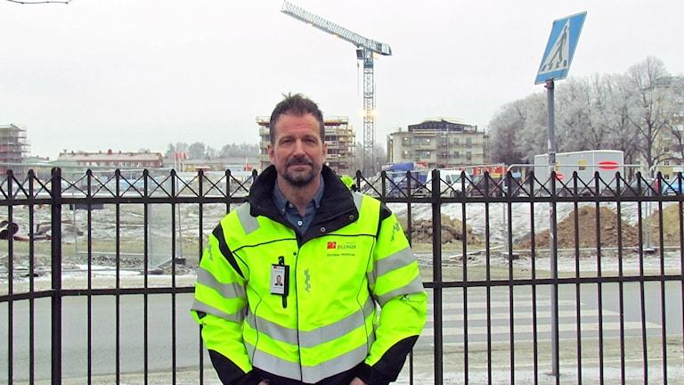 Christer Heldring, ombudsman på Byggnads Mälardalen.