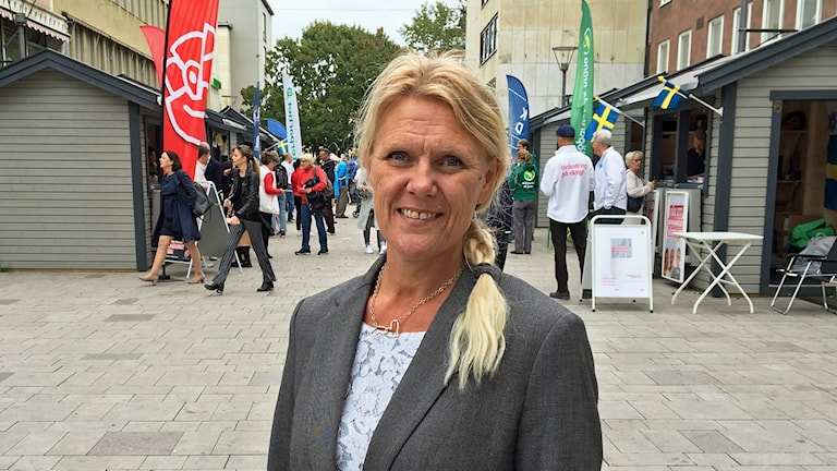 Ann-Christine From Utterstedt (SD) i Västerås.