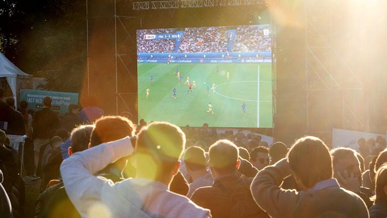 Fotboll på Stora Torget