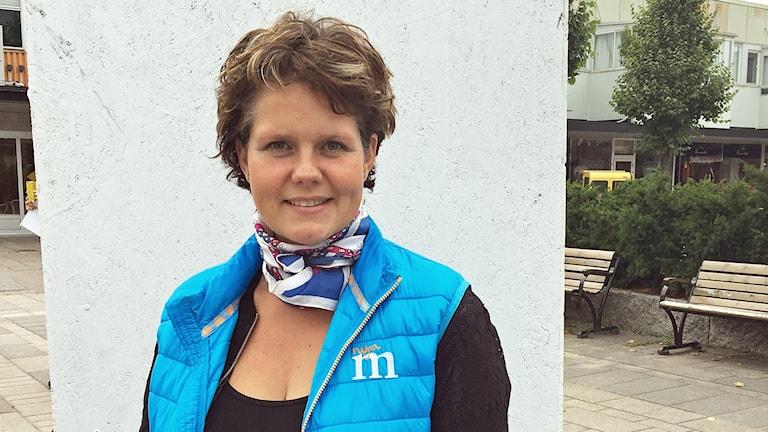 Jenny Landernäs, Moderaterna i Hallstahammar.