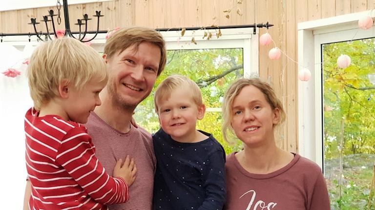 Elias Norström och Sari Jakobsson i Västerås