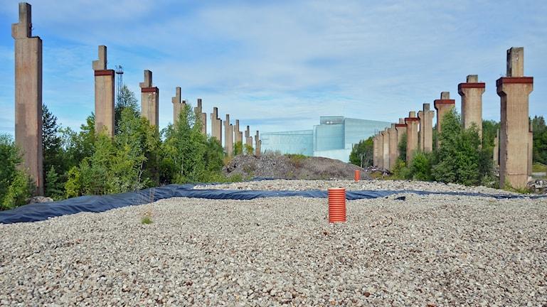 Provtagningsytor Norra industriområdet Fagersta.