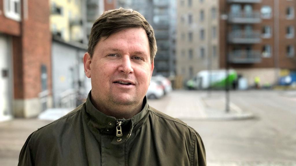 Statsvetare Joakim Johansson.