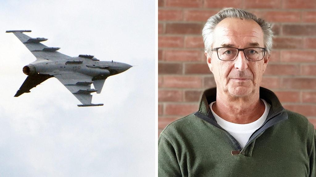 Ett jasplan och en bild på Tomas Högström