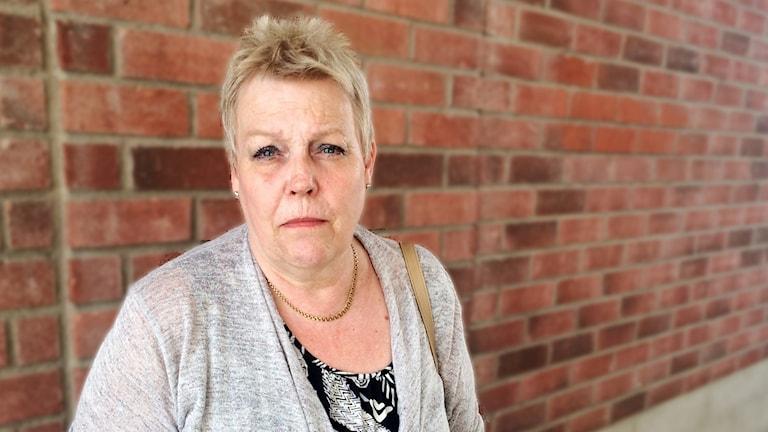 Gisela Persson, hemtjänstchef Bäckby i Västerås.