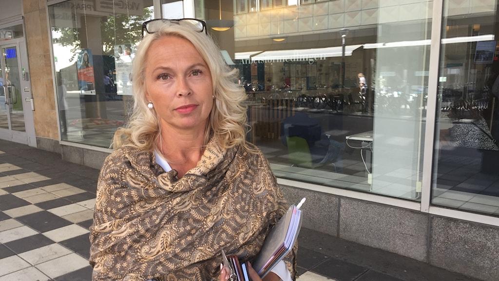 Anne-Charlotte Silvano, sektionschef för etableringsuppdraget på Arbetsförmedlingen.