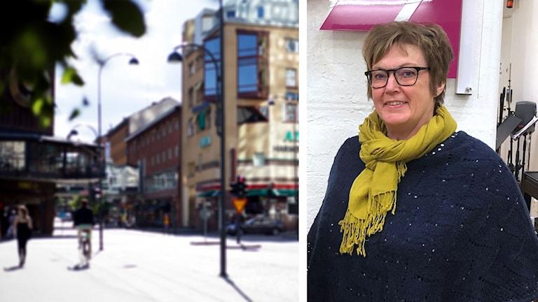 Västerås City och Monica Stolpe Nordin.