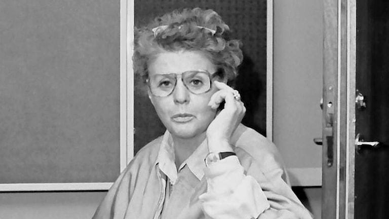 Gudrun Björk - tidig medarbetare på Radio Västmanland