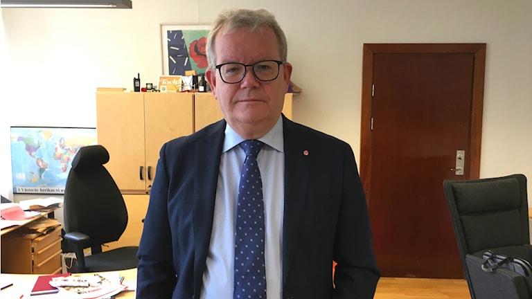 Anders Teljebäck (S) kommunalråd i Västerås.