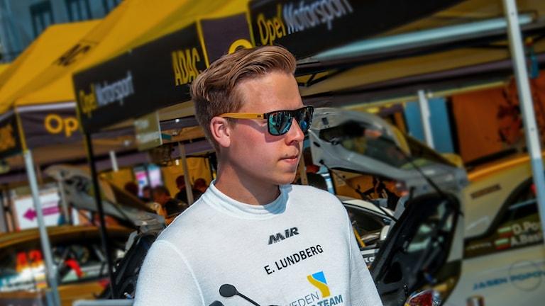 Elias Lundberg, rallyförare, SMK Sala.