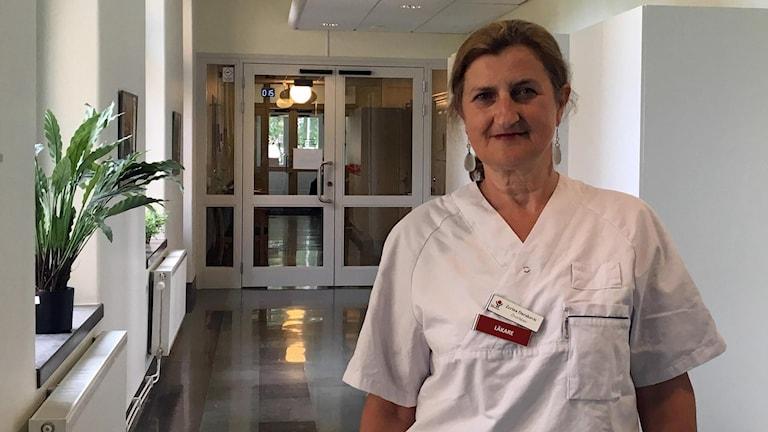 Zerina Durakovic, verksamhetschef hudkliniken Västerås.