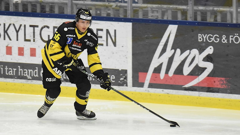 VIK Hockeys Alexander Nilsson Lindelöf.