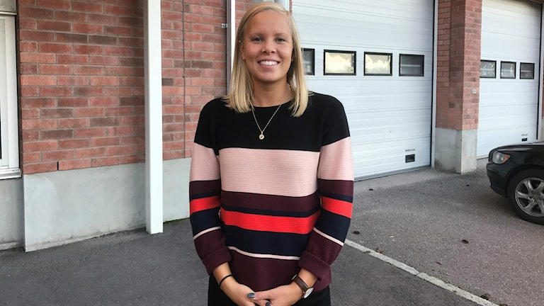 Simmaren Frida Berggren från Västerås Simsällskap.
