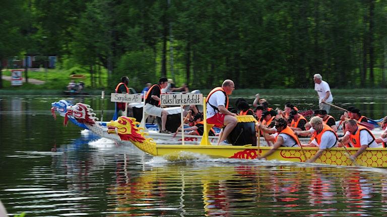 Drakbåtsfesten i Hallstahammar