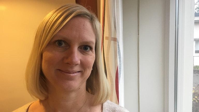 Ingrid Tillander, förstelärare på Nybyggeskolan i Västerås.