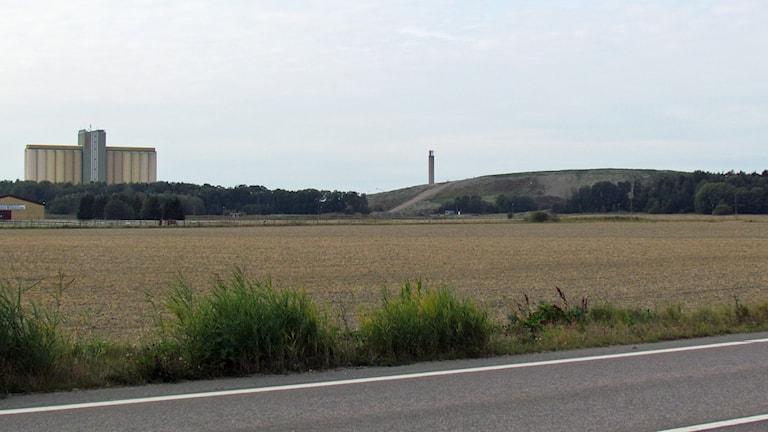 Området vid Norsatippen.