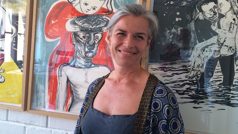 Kajsa Giertz gör sin sista dag som teaterchef på Västmanlands teater.