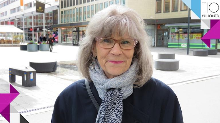 Viveka Nyman från Västerås.