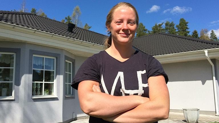 Spjutkastaren Sofi Flink från Hallstahammar