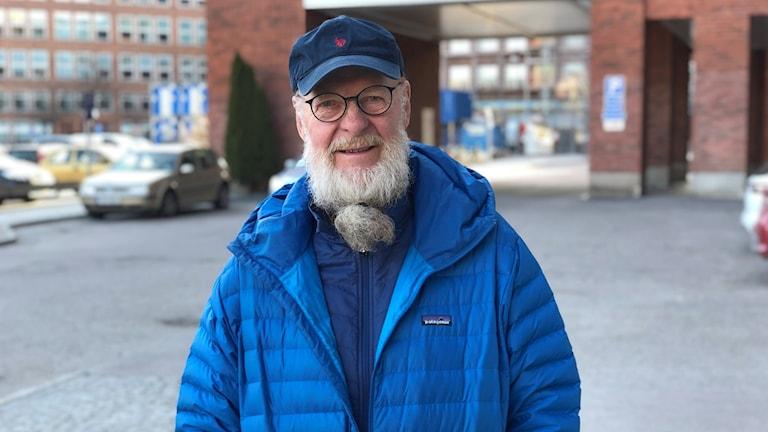Lars Häger bodde på egen hand i Tarfaladalen i ett helt år.