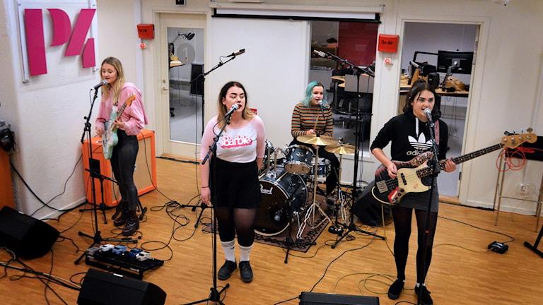 Call Cat från Västerås på Radioscenen.