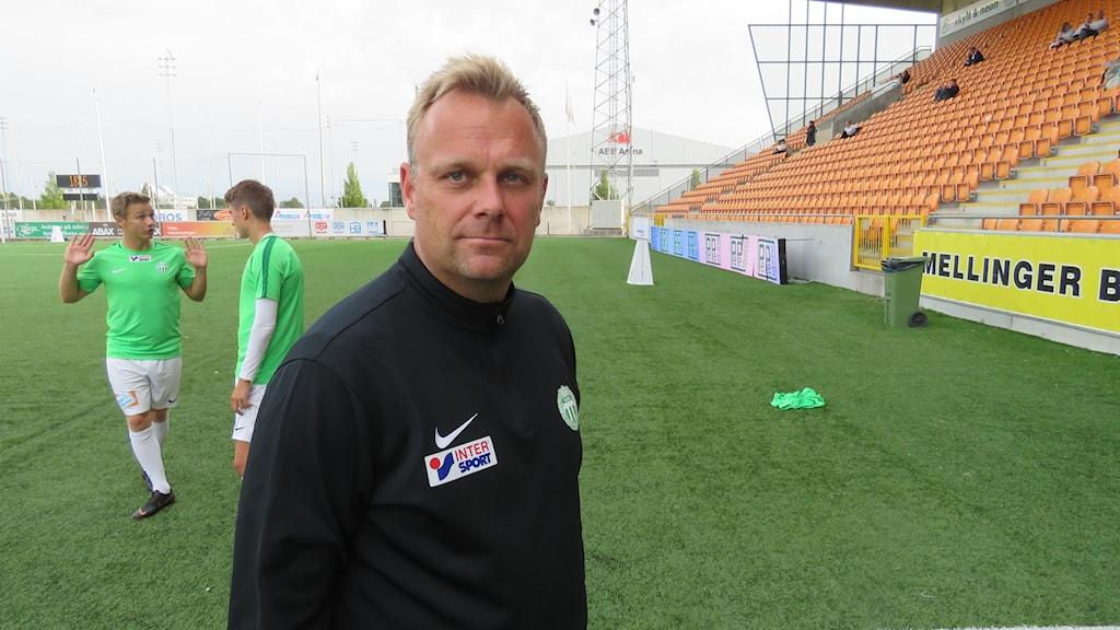 Joacim Gunnarsson assisterande tränare VSK Fotboll