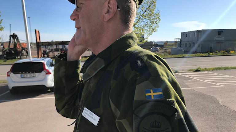 Bengt Tiberg överstelöjtnant