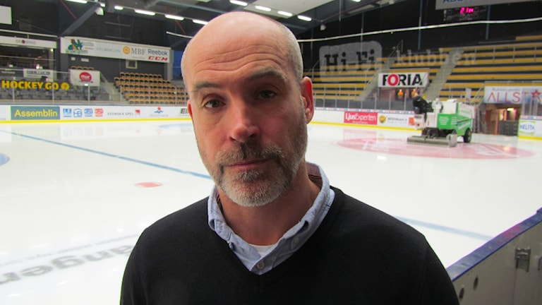 VIK Hockeys tränare Christer Olsson