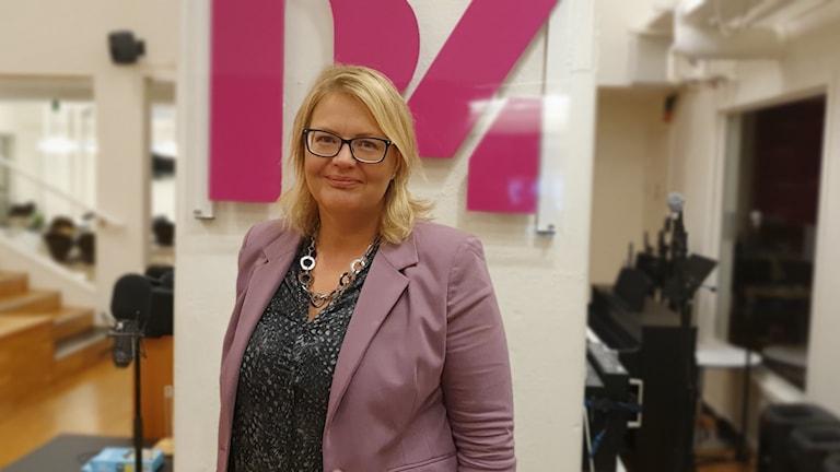 Anna Lundberg (L), ordförande i grundskolenämnden i Västerås.