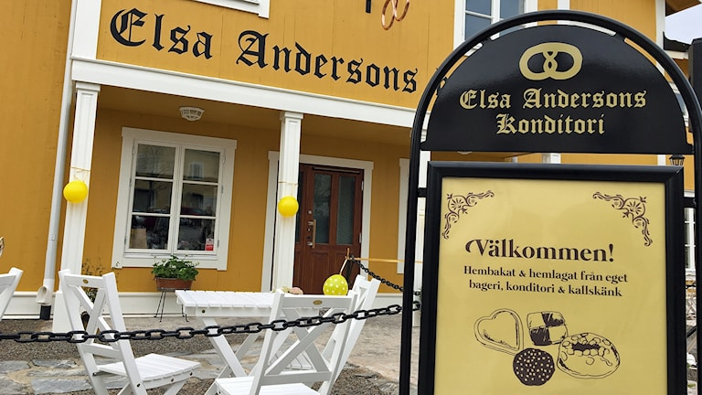 Nya Elsas konditori i Norberg.