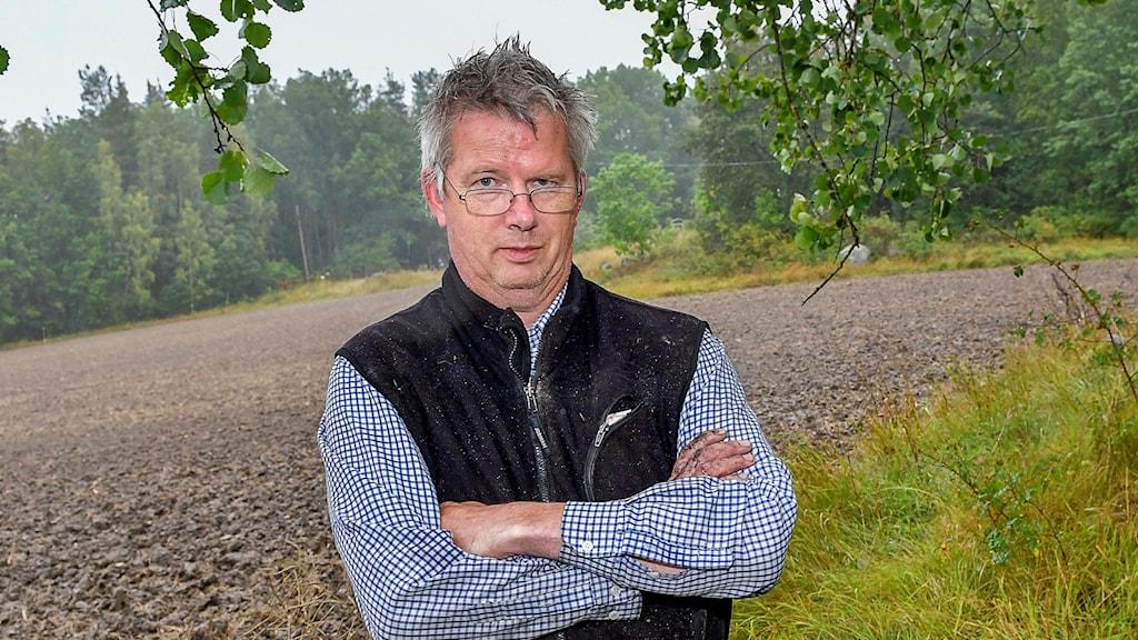LRF Mälardalens ordförande Per Pettersson