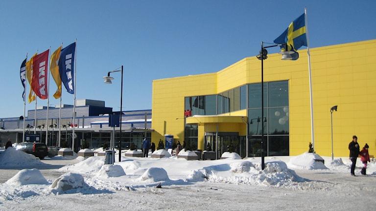 Ikea-varuhuset i Västerås.