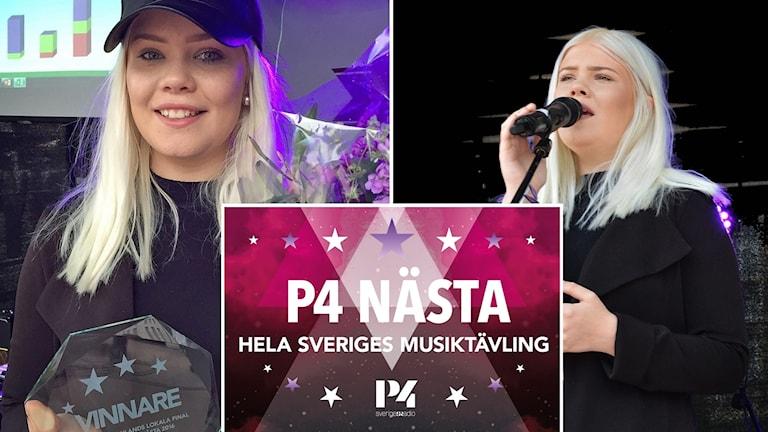 Tilda Anvemyr vann Svensktoppen Nästa Västmanland 2016.