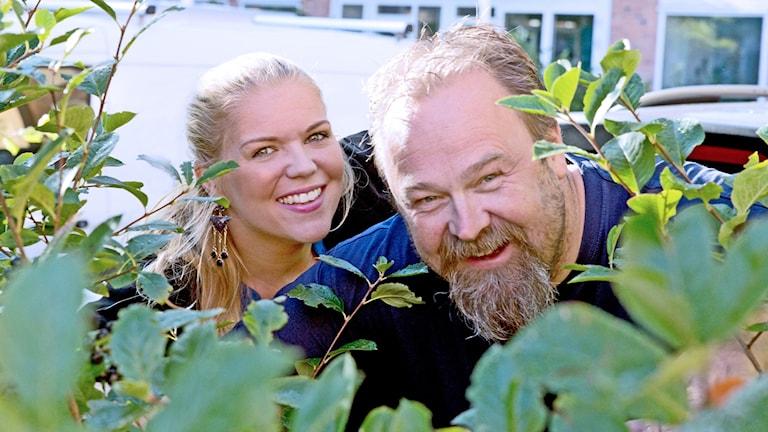 Jonna Noblin och Martin Vare.