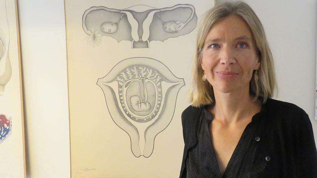 Åsa Jansson överläkare kvinnokliniken.
