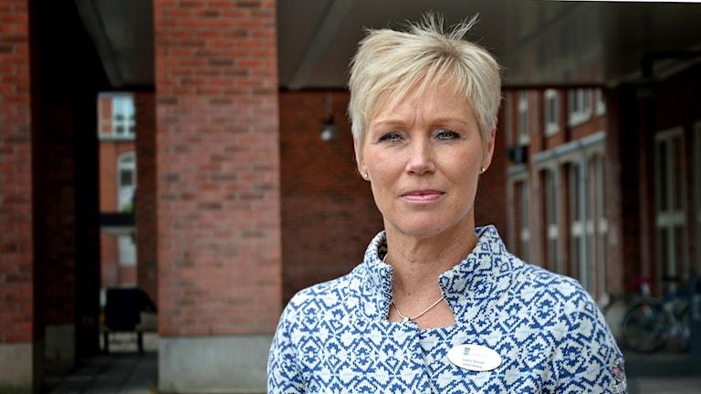 Lotta Tronêt, verksamhetschef på Västerås stad