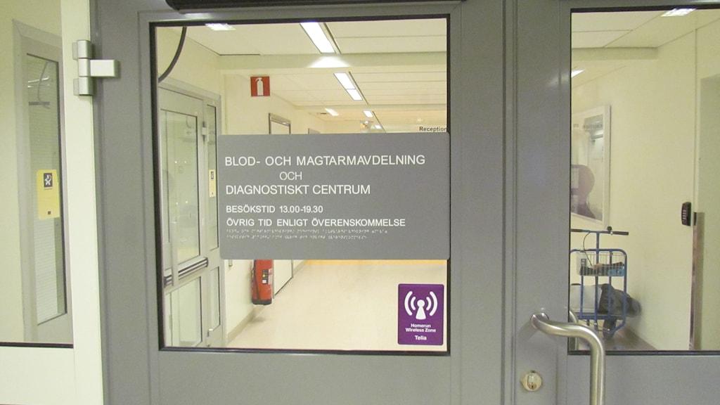 Blod- och magtarmavdelningen Västerås.