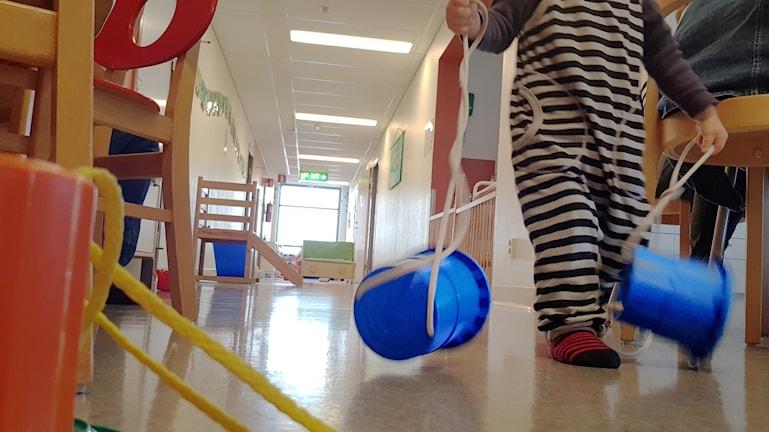 Barn Leksak Öppna förskolan