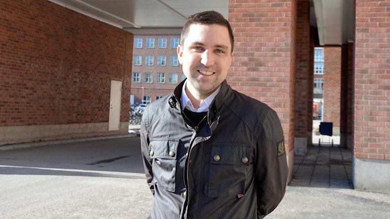 Magnus Johansson, ordförande Socialdemokraterna Västerås.