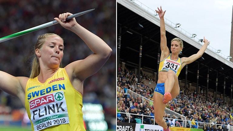 Sofi Flink och Malin Marmbrandt.