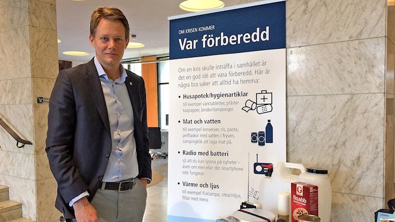 Riskingenjör Johan Ahlström i Västerås