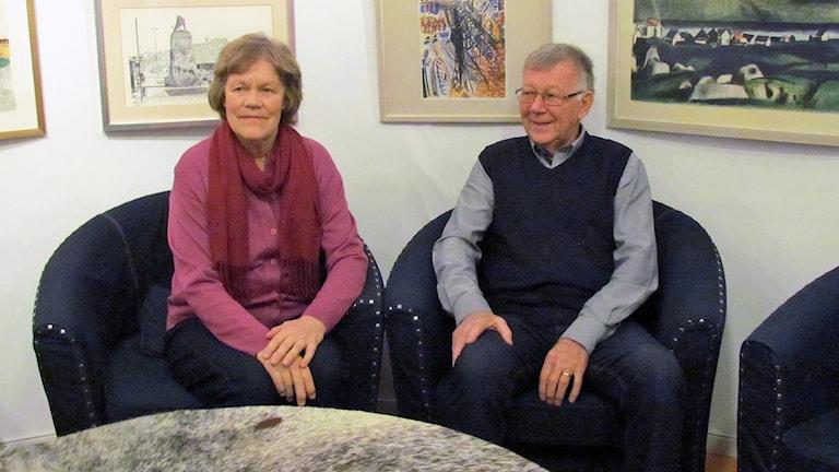 Ylva Pettersson och Einar Berndtsson, medlemmar i PRO i Arboga.