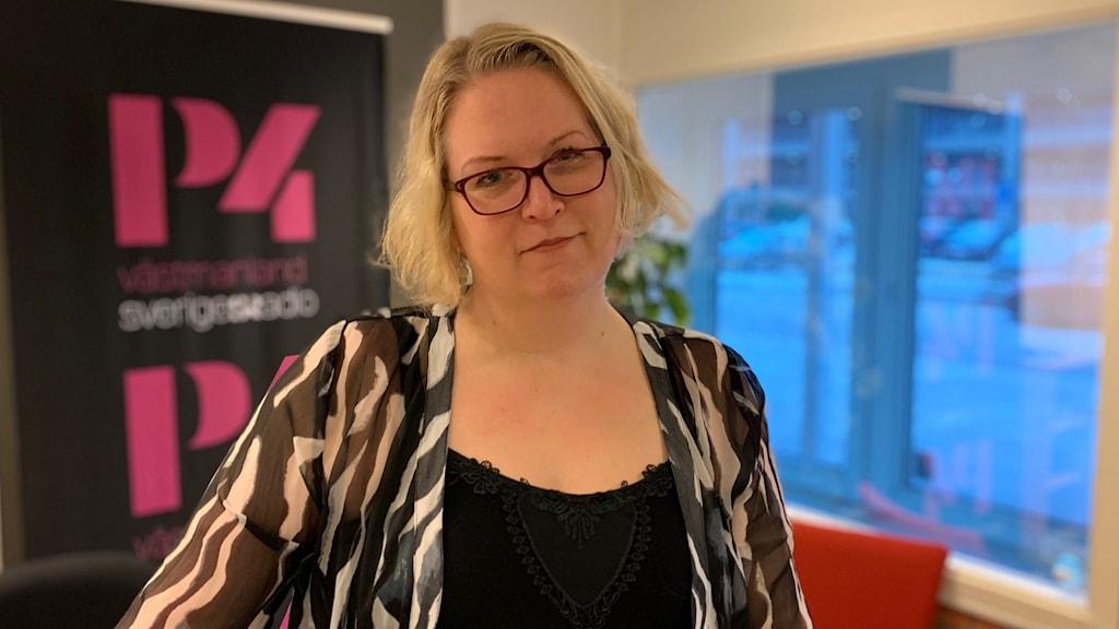 Anna Porsvald, vice ordförande i Autism- och Aspergerföreningen i Västmanland.
