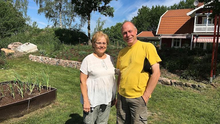 Stina Öryd och Per Bürger.