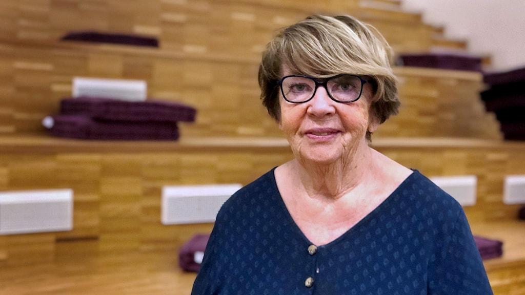 Inger Persson, ordförande i PRO Västmanland.