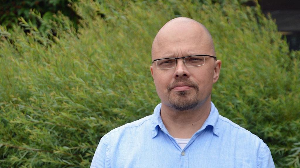 CJ Carlbom miljöskyddshandläggare på länsstyrelsen i Västmanland.