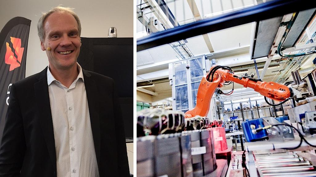 Peter Löfgren, vd på SynerLeap.