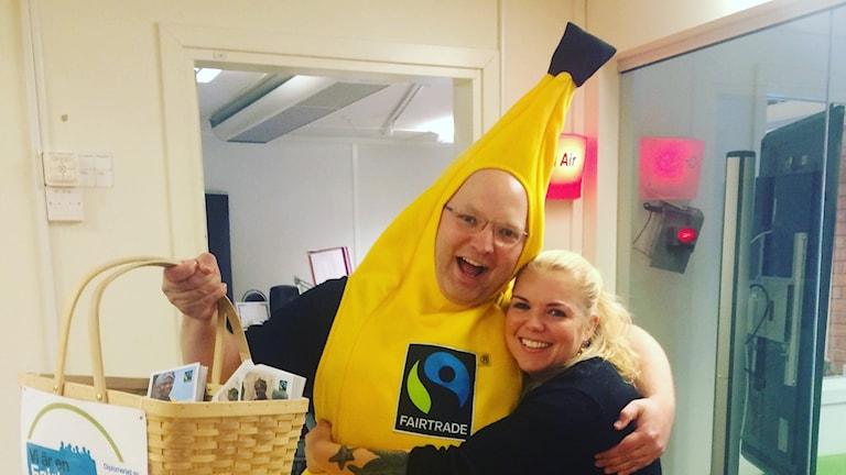Banan fairtrade rättvisemärkt fika
